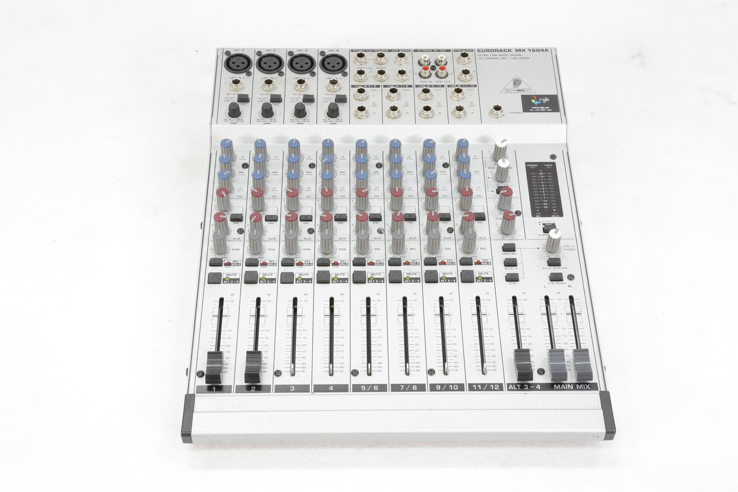 Behringer MX 1604A